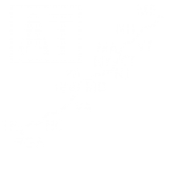 Appalachian Trail 14 States T-shirt